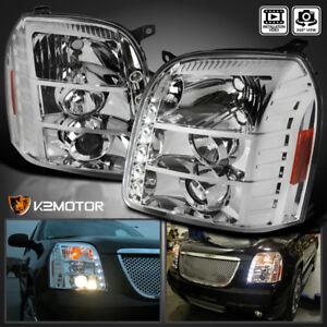 2007-2014 GMC Yukon Denali LED Projector Headlights Left+Right