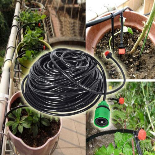 New 25m DIY Micro Drip Irrigation System ...