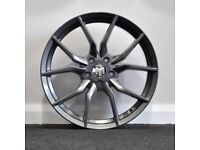 """18"""" Ford RS Style alloy wheels - 5x108 (Ford Focus, Mondeo etc)"""