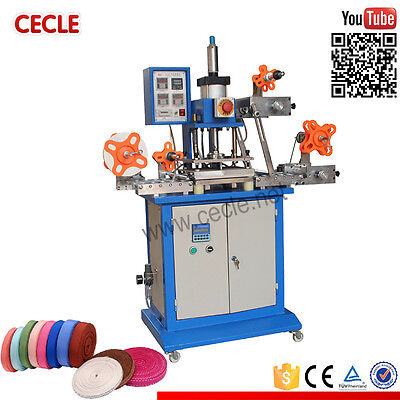 Pneumatic Automatic Hot Foil Stamping Machine Ribbon Hot Stamping Machine