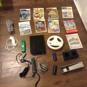 Wii, games and accessories