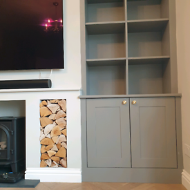 Fitted wardrobes, alcove units, fronts replacements and more