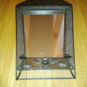 hand made Indian mirror