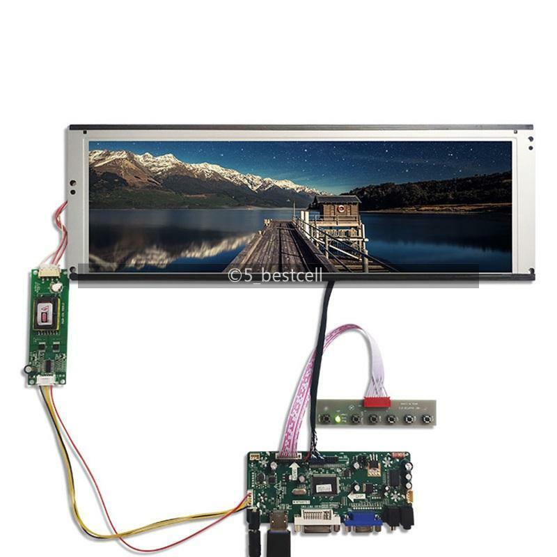 New HDMI VGA DVI LCD Display controller board+14.9inch 1280x390 LTA149B780F