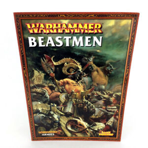 Warhammer 40K Beastmen Armies Book 7th Edition Games Workshop 03