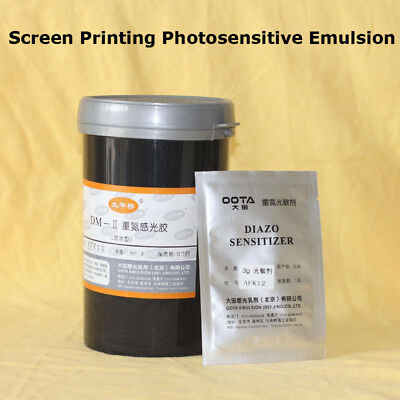 1 Bottle Screen Printing Solvent Emulsion Making Plate Photosensitive Emulsion