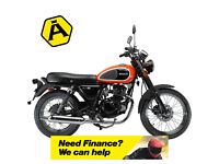 HERALD CLASSIC 125 - CLASSIC - CAFE - MOTORCYCLE - 1 LEFT