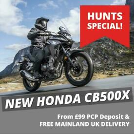 SPECIAL OFFER! - NEW Honda CB500X ABS. SAVE £324. £5,795 On The Road