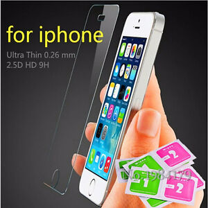 Tempered Glass Screen Protector fr iphone5/5C5S/SE