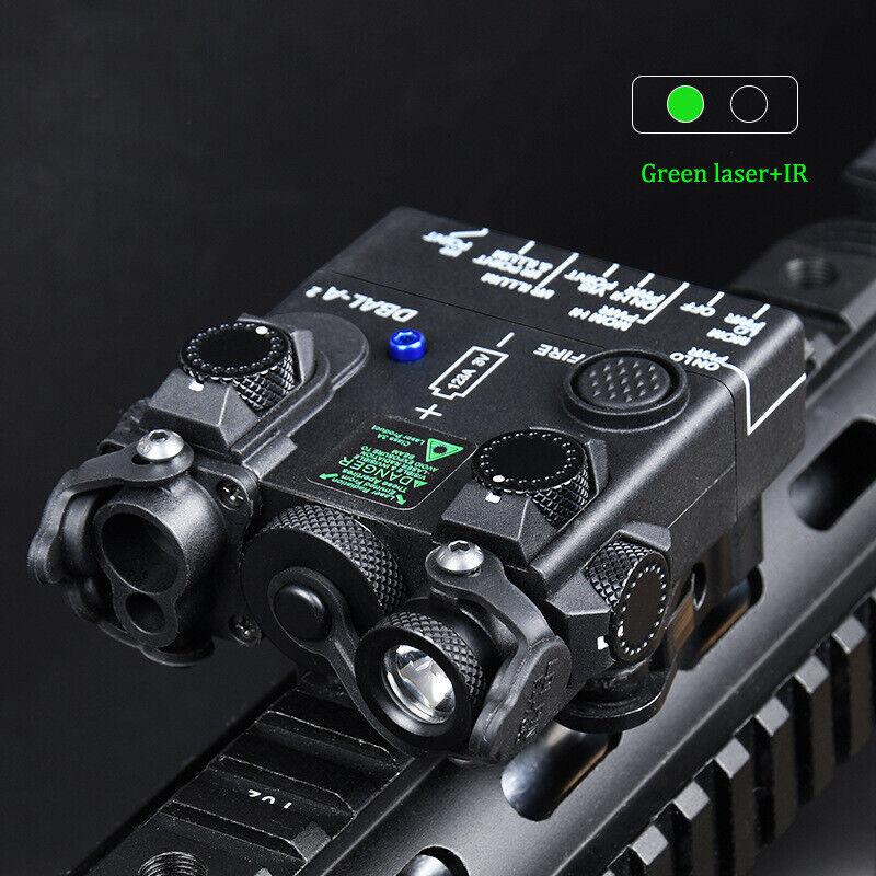 WADSN DBAL-A2 Green IR Aiming Laser Hunting Strobe Light WD06002 Black