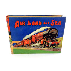Air Land And Sea Book Birns Adventure England Vintage 1930's