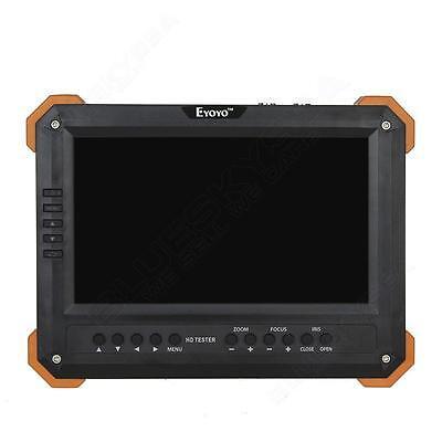 7 Lcd Monitor Hd-tviahdhdmivgacvbs Camera 1v5 Tester Video Cctv Battery