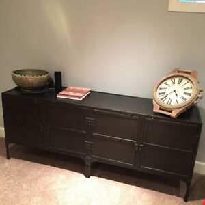 Industrial Console Tool Chest Sidebar - Restoration Hardware