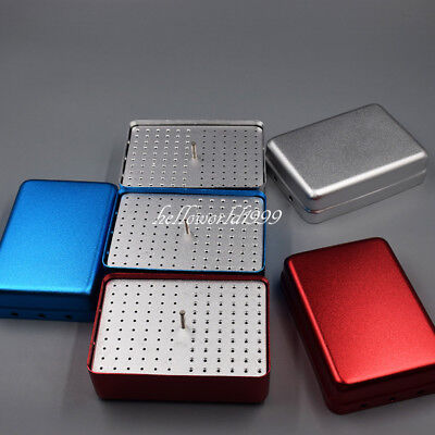 Dental Burs Holder Endo Files Stand Disinfection Box Endo Accessories 120 Holes