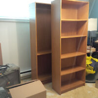 Bookcases - just in time for school