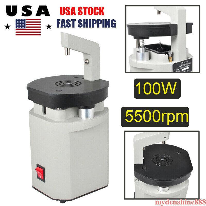 Dentist Driller Dental Lab Laser Drill Machine Pin System Equipment 100W 5500RPM