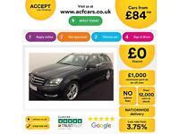 Mercedes-Benz C220 FROM £84 PER WEEK!