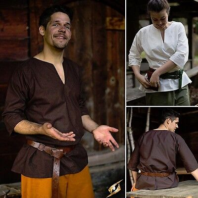 Viking / Odin Shirt - Ideal For LARP Or Re-Enactment - 2 Colours