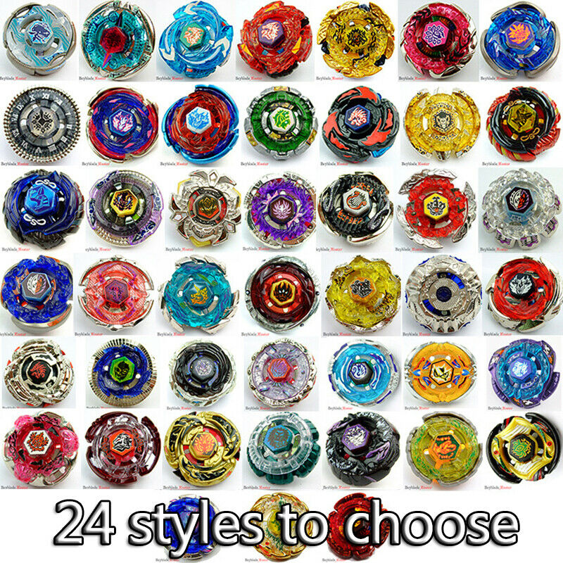 Beyblade Metal Fusion Without Box and Launcher 4D Kids Game