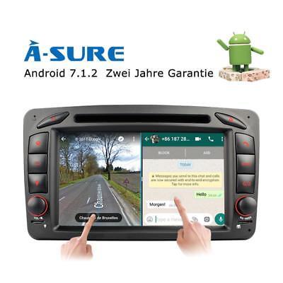 Android 7.1.2 DVD Autoradio GPS für Benz C CLK Klasse W639 W209 W203 Vito OBD BT online kaufen