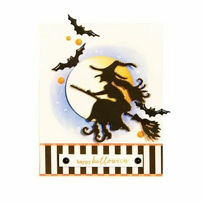 Halloween Witch Metal Cutting Dies Scrapbooking Album Paper Craft Making Diy Die](Diy Halloween Paper Crafts)