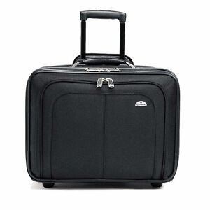 Samsonite Business One mobile office 15.6 inch, Black - $75 Cambridge Kitchener Area image 2