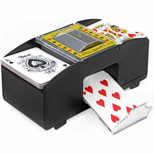 Automatische Kartenmischmaschine Kartenmischer elektrisch Kartenmischgerät Poker