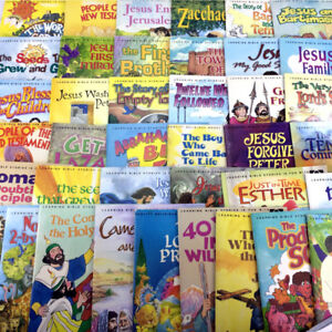 Lot 39 Arch Books Vintage & Modern Childrens Religious Series