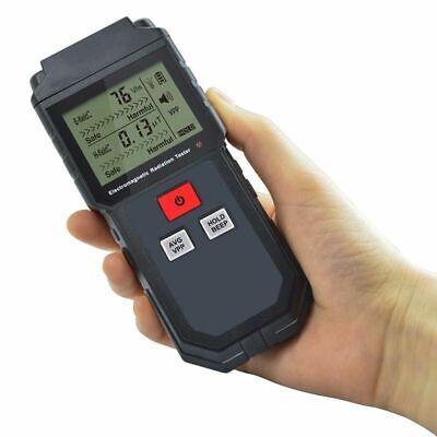 Radiation Tester Geiger Emf Dosimeter Electromagnetic Field Detector Digital