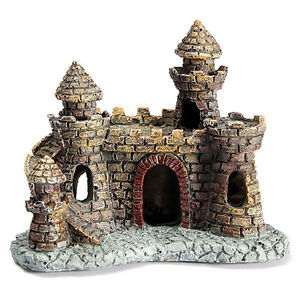 Artificial-Aquarium-Fish-Tank-Ornament-Castle-Tower-House-Cave-Craft-DIY-Decor