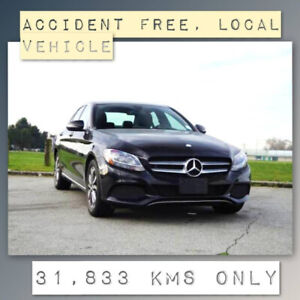 2017 Mercedes Benz C-Class AWD - Accident Free