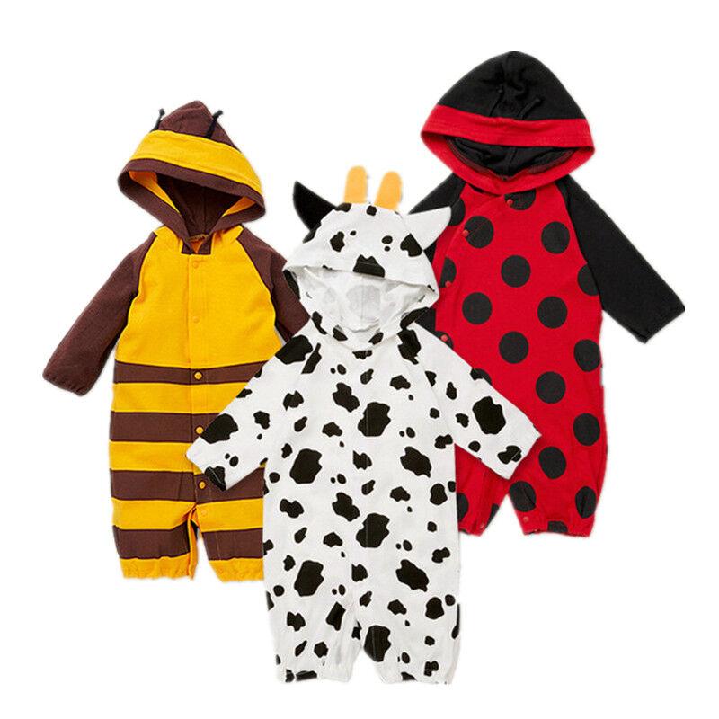Baby Kleinkind kostüm Karneval Tier Marienkäfer Biene Kuh