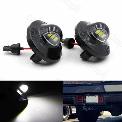 Pair LED License Plate Lights for Ford F150 Expedition Explorer Ranger Lincoln