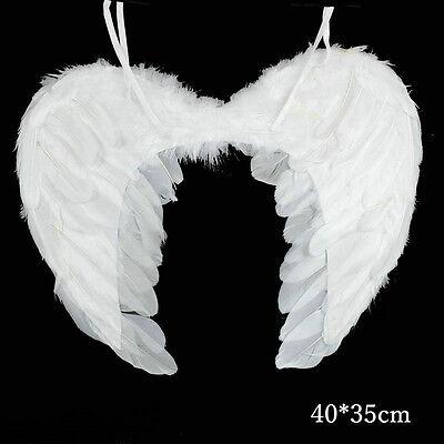 Wings Angel Fairy Fancy Dress Costume Halloween Party (Kostüm Feather Wings)