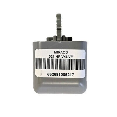 Miraco Replacement Valve Part Number 521 Grey 40-80 Psi High Pressure Valve