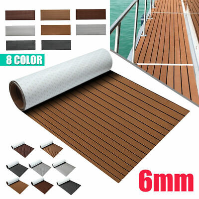 94.5''x35.4'' Teak Decking Marine Boat Flooring Carpet Sheet Yacht EVA Foam US ()