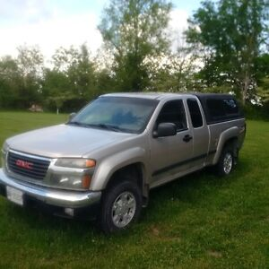 2006 GMC Canyon 4x4 Pickup Truck