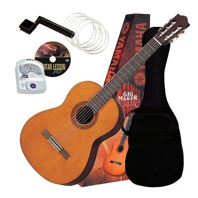 Yamaha C40 PKG Classical Guitar GigMaker Starter Pack GUITAR ESSENTIALS BUNDLE Classical Guitar Starter Pack