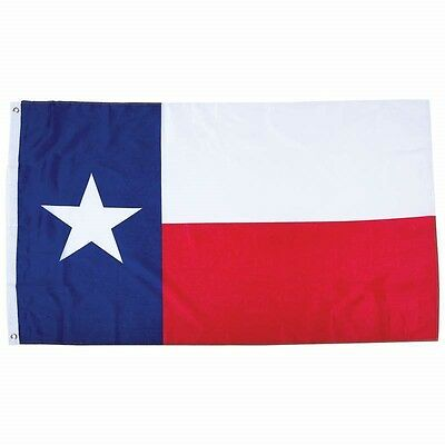 TEXAS STATE FLAG  3x5 Foot Polyester Lone Star TX USA Banner Red White -
