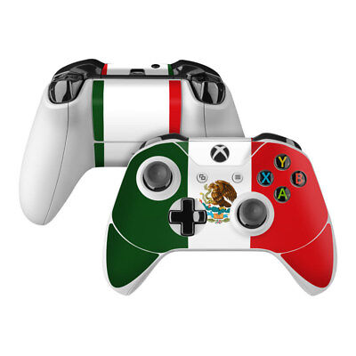 Xbox One S Controller Skin Kit - Mexican Flag by Flags - Dec