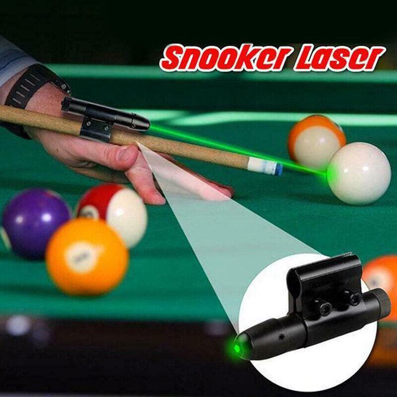 Pool Snooker Cue Laser Sight Billiard Training Equipment Practice Aid Corrector#