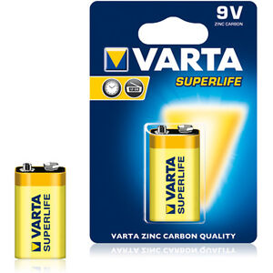 Varta SUPERLIFE Batterien Mignon AA, Micro AAA, Baby C, Mono D, 9V-Block,