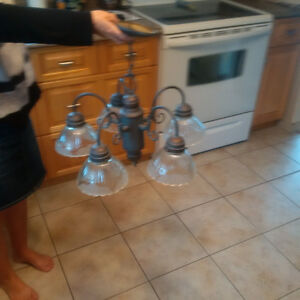 5 Light Chandelier for Sale