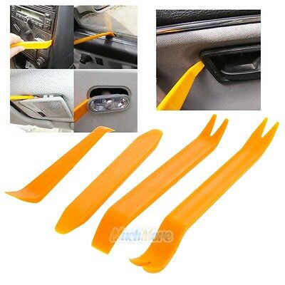 4 x Car Handle Interior Panel Moulding Trim Removal Installation Pry Tool Set