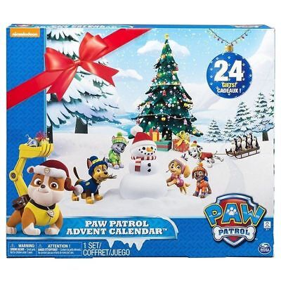 PAW PATROL ADVENT CALENDAR SPIN MASTER 24 COLLECTABLE GIFTS