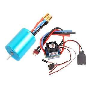 RC-107051-BRUSHLESS-540-Motor-3300KV-03302-37017-03307-ESC-45A-2-3S-Lipo