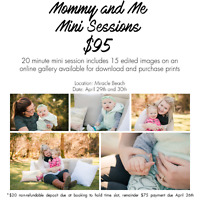 Photography Mommy and Me Mini Sessions