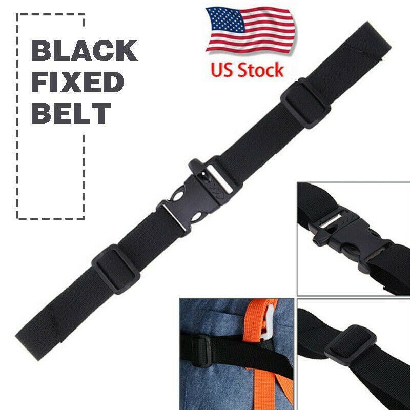 Adjustable Backpack Chest Strap Rucksack Weight Reduction Fixed Buckle USA - $4.79
