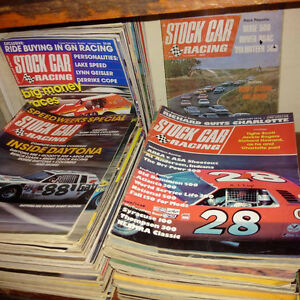 1960s, 70s and 80s Stock Car Racing Magazine