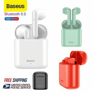Baseus TWS Bluetooth 5.0 Headset Wireless Earbuds In Ear Touch Control Earphones